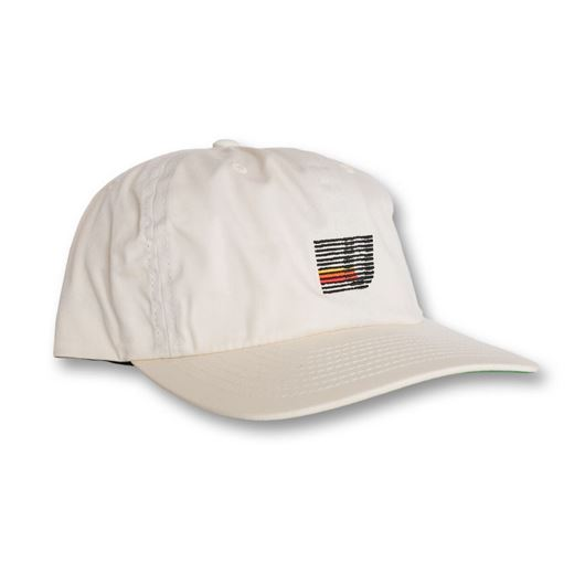 Picture of Speed Stripe Strapback Cap Cream