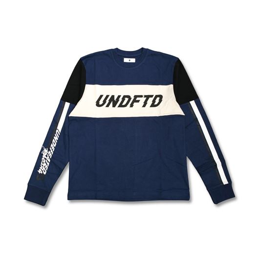 Picture of Undftd Racer LS Jersey Blue