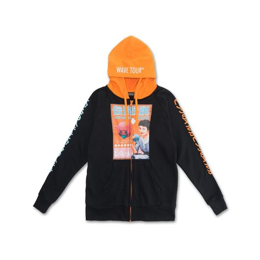 Picture of WAVE TOUR HOODIE Black