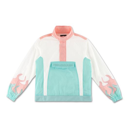 Picture of WAVE FLARE WINDBREAKER TOP White