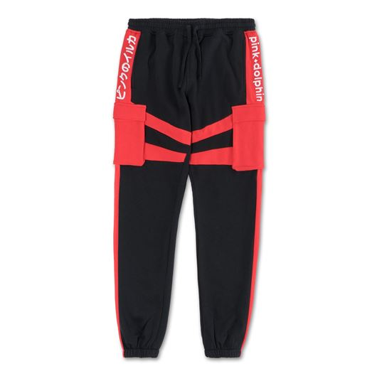 Picture of PROMO BLOCK SWEATPANTS Black