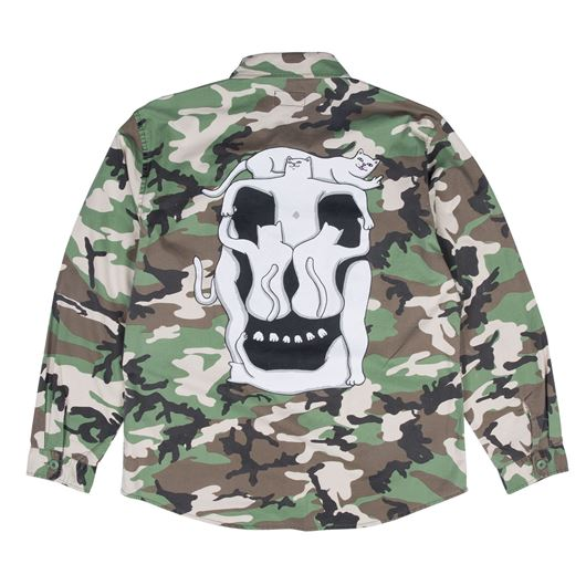Picture of Nerm Skull Army Jacket Camo