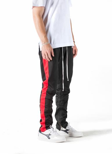 Picture of FB TRACK PANT Black/Red