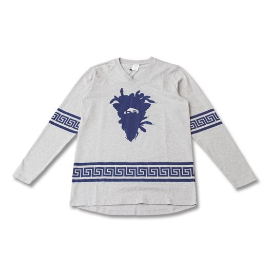 Picture of Medusa greca Jersey Heather Grey