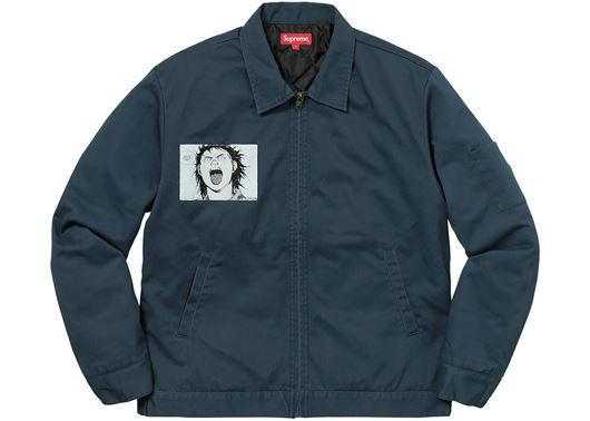 Picture of AKIRA Work Jacket Light Navy