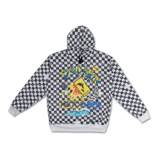 Picture of *LTD* MODENA CHECKERED HOODIE Black
