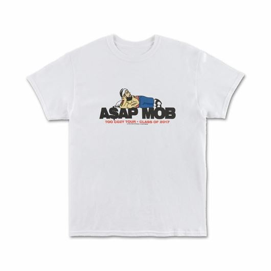 Picture of TOO COZY GRAPHIC - S/S White