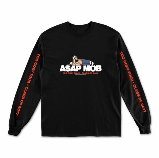 Picture of TOO COZY GRAPHIC - L/S Black