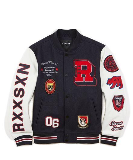 Picture of Worldwide Varsity Jacket Multi