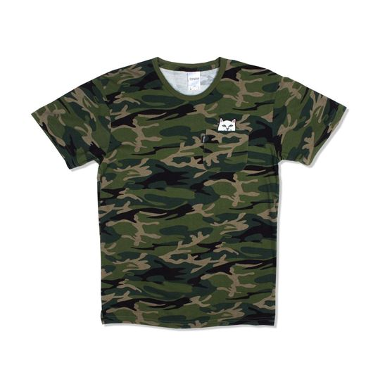 Picture of Lord Nermal Tee Green Camo