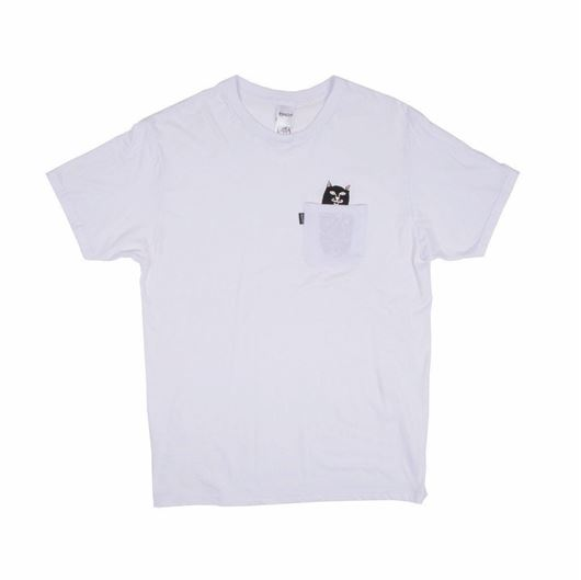 Picture of Lord Jermal Pocket Tee White
