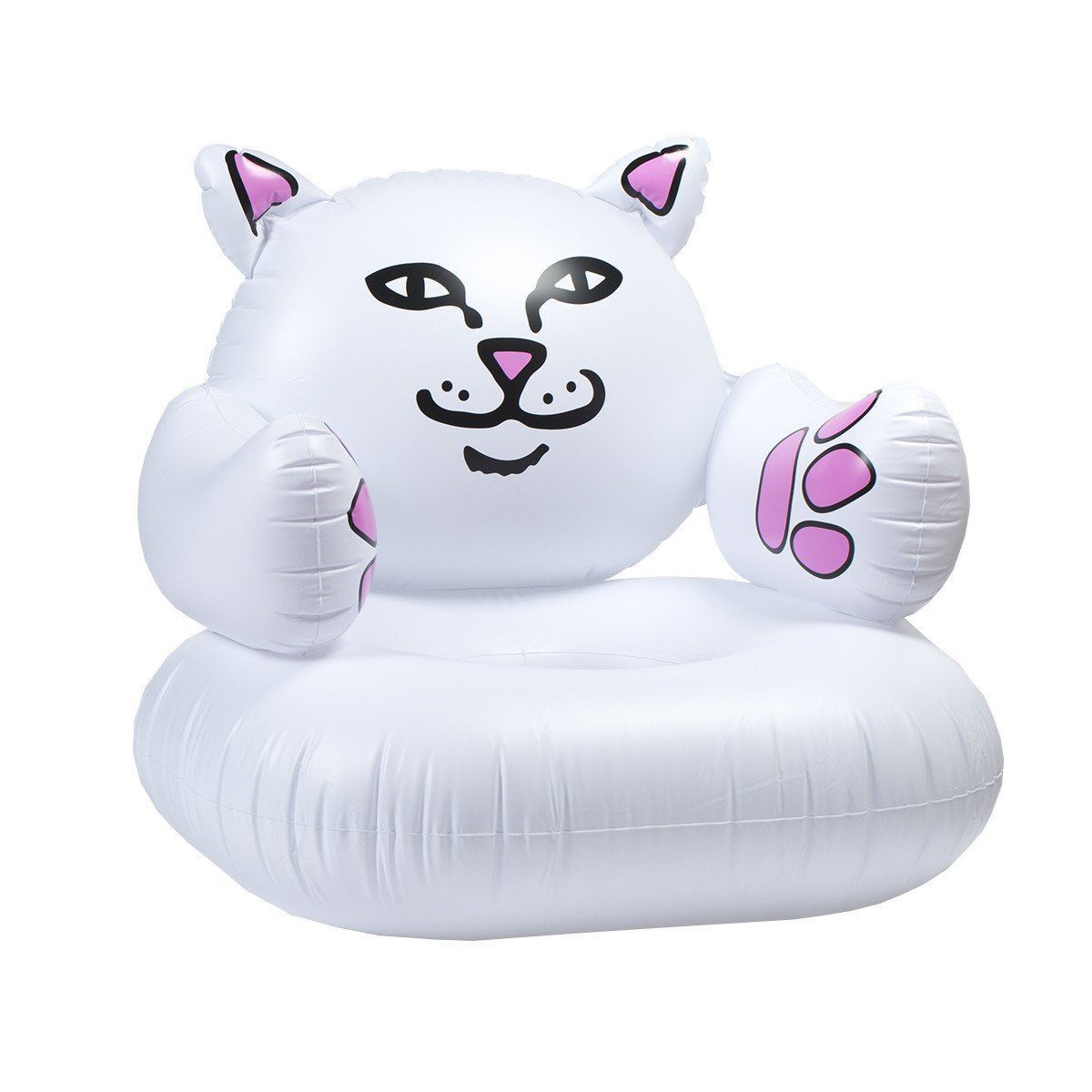 Inflatable Sofa Clear: Lord Nermal Inflatable Chair White