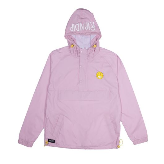 Picture of Everything'll Be Okay Anorak Jacket Pink