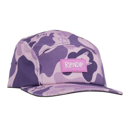 Picture of Nerm Camo Camper Hat Purple