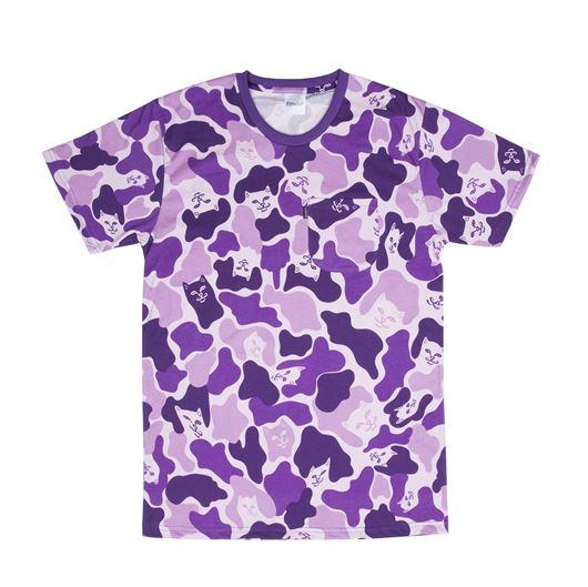 Picture of Purple Camo Tee Purple Camo