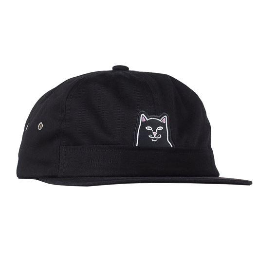 Picture of Lord Jermal 5 Panel Pocket Hat Black