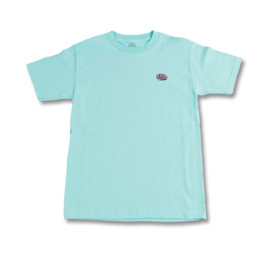 Picture of ETERNITY DONUT RINGS TEE Celadon