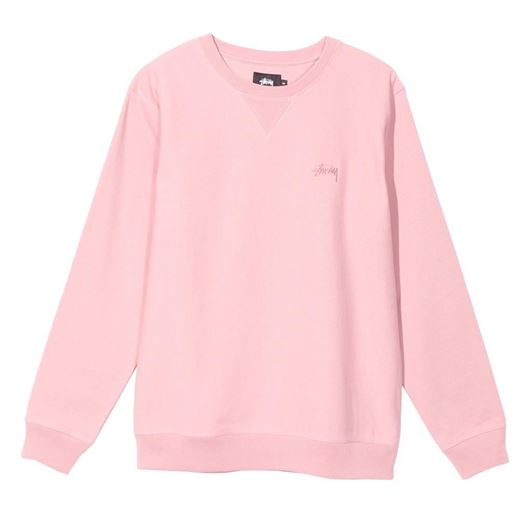 Picture of STOCK LS TERRY CREW Pink