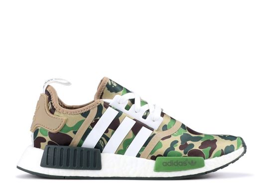 Picture of BAPE x Adidas NMD Green Used