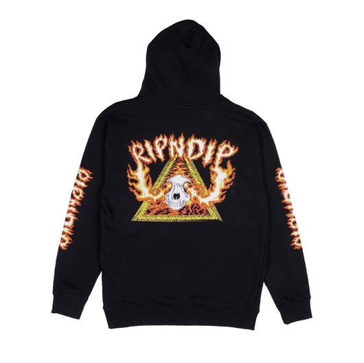 Picture of Inferno Pullover Sweater Black