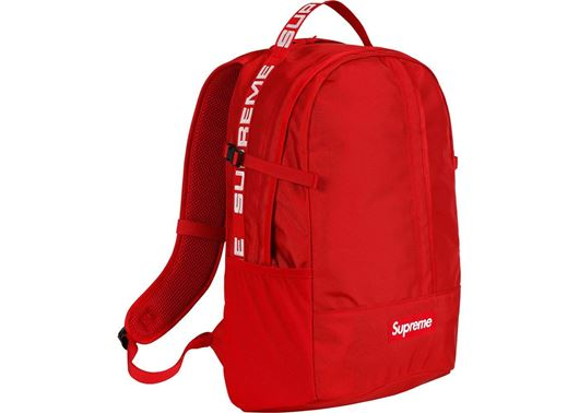 Picture of Supreme Backpack (SS18) Red